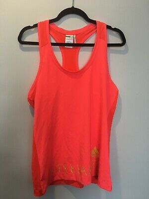 Women's Pre-Owned Stella Sport (Adidas) Pink Activewear Tank Top Size L