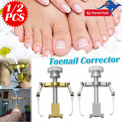 2x Ingrown Toenail Pedicure Toe Nail  Fixer Correction Tool Manicure Clipper