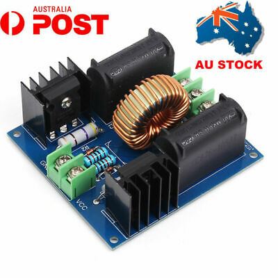 AU ZVS Induction Heating Driver Board High Voltage Generator Circuit PCB 12-30V