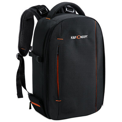K&F Concept Waterproof Camera Backpack Bag Large Capacity for Sony Canon DSLR