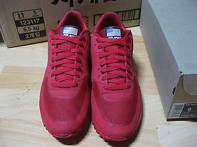 detailed look b1d20 03607 Nike Air Max 90 HYPERFUSE INDEPENDENCE DAY Sz 9