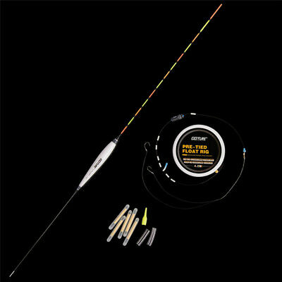 Goture Pole Floats Vertical Buoy Pre-tied Rig Main Line Leader Fishing Tackle
