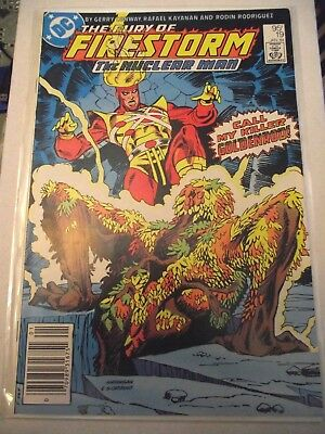 The Fury of Firestorm #19 Canadian newsstand price variant 1984 FNVF