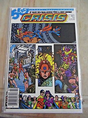 Crisis on Infinite Earths #11 Canadian Newsstand variant DC 1986 FNVF