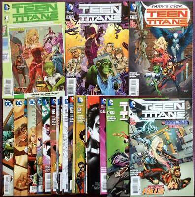 Teen Titans #1 to #24 near complete (missing #7) (DC 2014) 23 High grade issues