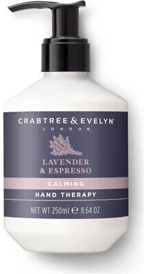Calming Lavender & Espresso Hand Therapy, Crabtree & Evelyn, 250 ml
