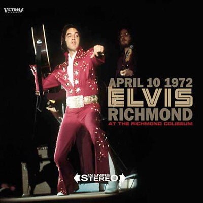 Elvis Presley - April 10, 1972 Richmond - 2x CD DIGI PAK - New & Sealed