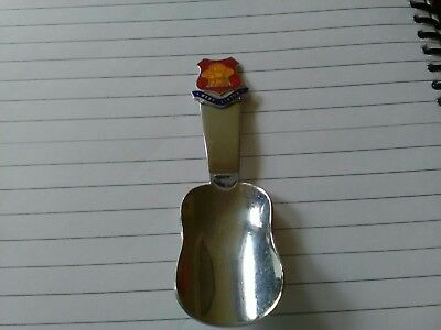 Vintage Enamel Tea Caddy Spoon