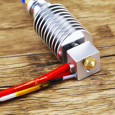 2x J-head Long Distance Extrusion V5 Metal Extruder Hotend For 1.75mm Filament