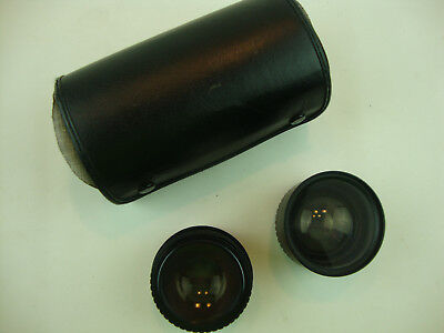 Amcam587 Aux Telephoto  And Aux Wide-Angle Lens W/Veiwfinders For L35Af