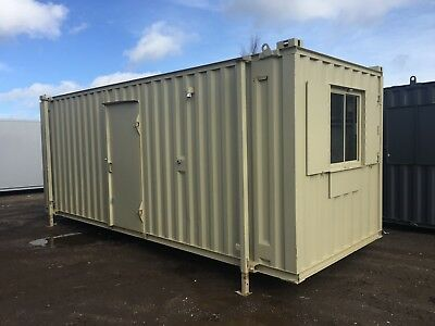 Site Ant-Vandal Office / Canteen For Sale From £2700 + Vat