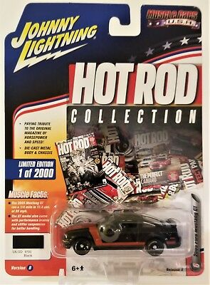 Johnny Lightning 2005 Ford Mustang Black Hot Rod Collection 2017 Release 4