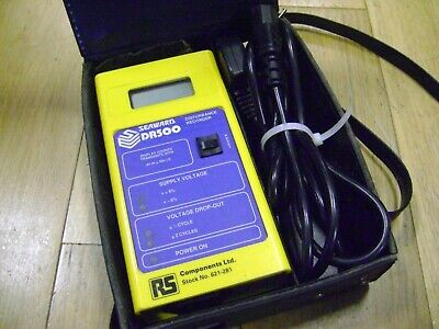 Seaward DR500 Disturbance Recorder - hard-case & power cable - RS Stock 621-281