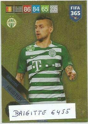 :Panini Adrenalyn XL fifa 365 2019 Limited Edition Update Marcel Heister