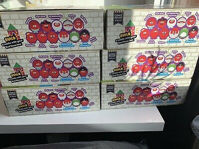Comic Relief Red Nose Day 2019 Display Box Containing 40 X Boxed Sealed Noses