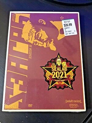 Sealab 2021 - Season 3 (DVD, 2005, 2-Disc Set) Adult Swim - Factory Sealed New