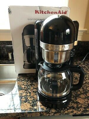 KITCHENAID KCM1204OB 12 Cup Coffee Maker with One Touch Brewing Onyx Black
