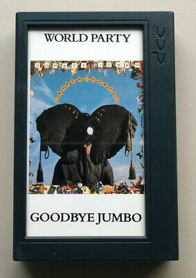 DCC Digital Compact Cassette Tape - World Party - Goodbye Jumbo