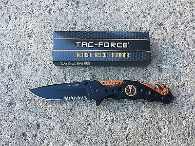 WHOLESALE LOT OF 25 Tac Force TF-723 EMT Spring Assisted Tactical Pocket Knives