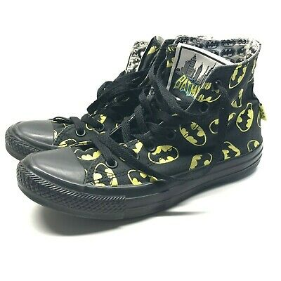 3083dcda4e89 Batman Converse All Star Mens 6 Womens 8 Chuck Taylor High Top Shoes  Sneakers DC