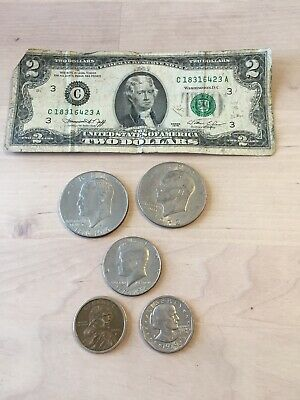United States Coin Lot Face Value $6.50