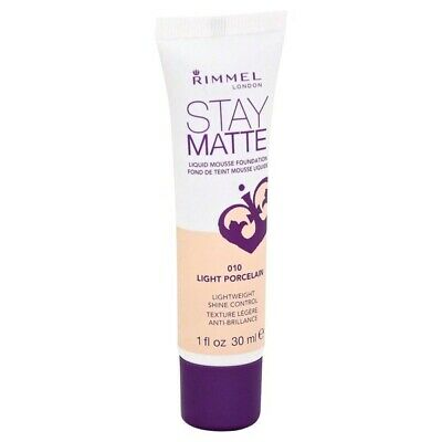 Rimmel Stay Matte Liquid Mousse Foundation - Various Shades
