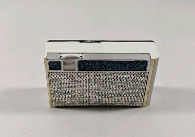 Vintage Sears 7 Transistor #7216 Mini Radio Pocket VG TESTED WORKS W/ BATTERY