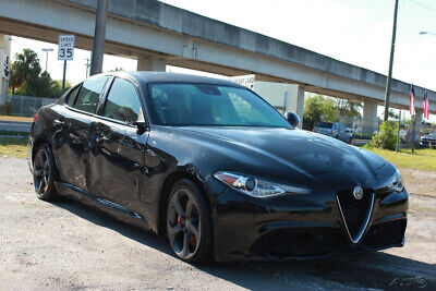 2018 Alfa Romeo Giulia Base 4dr Sedan 2018 Alfa Romeo Giulia Base 4dr Sedan EXPORT  TITLE,CERTIFICATE OF DESTRUCTION