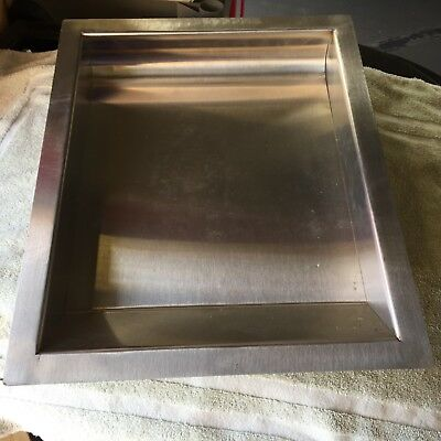 "W L x 10/"" 304 Commercial Stainless Steel Cash Window Drop-In Deal Tray 16/"""