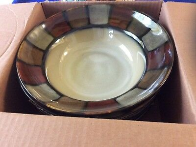 "NEW Set of 4 Pfaltzgraff Everyday Taos 8 1/4"" Soup Cereal Bowl"
