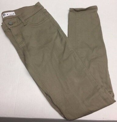 Tillys Girls RSQ Jeans Tan Miami Jegging Size 12