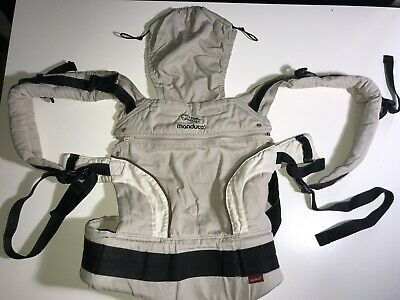 Manduca Buckle Baby Carrier in Beige - Used - Very Good Condition