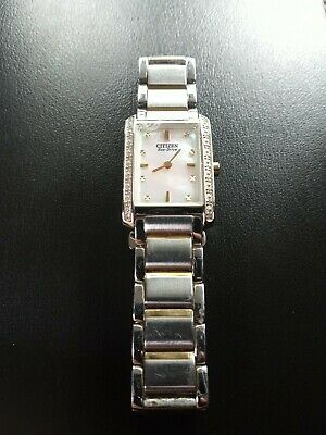 Citizen Eco-Drive B023-S079560 Mother of Pearl Stainless Steel Watch