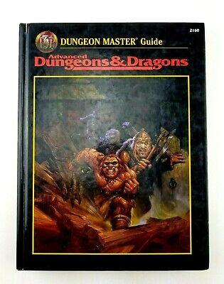 Advanced Dungeons & Dragons Dungeon Master's Guide 2nd Ed 2160 1995 1st print L2