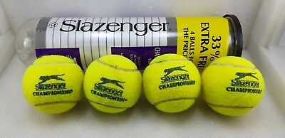 Slazenger The Championship Ball Four Pack