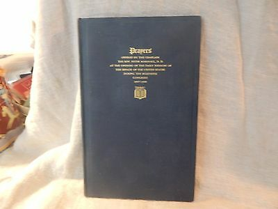 U.S. Senate Prayers Book 1947-1948 SIGNED by US Senator Glen Taylor (D-Idaho)