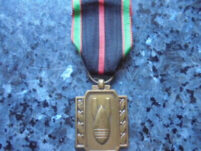 belle medaille  militaire belge ww2 deminage