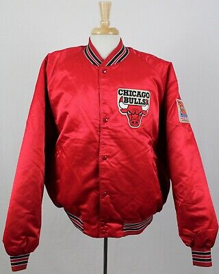 e495b1b226567b Chicago Bulls Vintage 90 s Chalk Line Hot Hoops NBA Satin Jacket 2XL Jordan