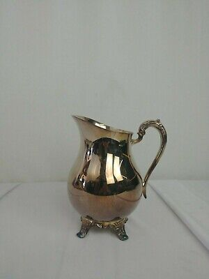 Fb Rogers Silverplate Footed Water Pitcher