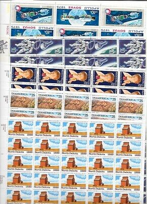 US Face Postage, Mint/Unused Mixed Denomination Stamps, FV$101.40 Lot B27
