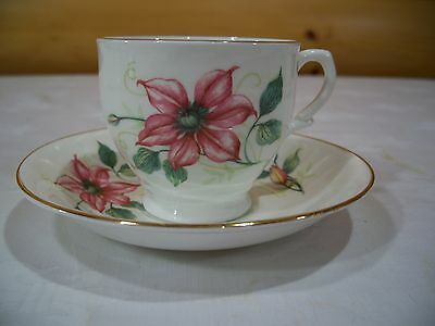 Made in England Fine Bone China Tea Cup and Saucer NO BRAND