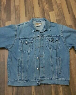 Wrangler Hero vintage look denim blue (unisex)Jacket size xl