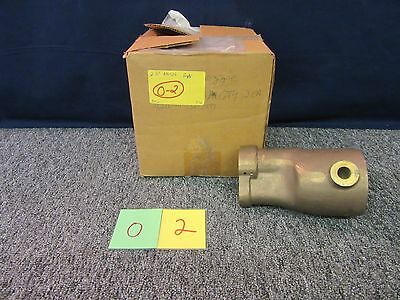 Akron Brass Nozzle Fire Fighter Navy Ship Military Body 2074-00-0-0-10-051 New