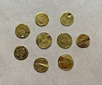 Lot Of 8 Ottoman Gold Coins To Be Catalogued. Very Nice Items!
