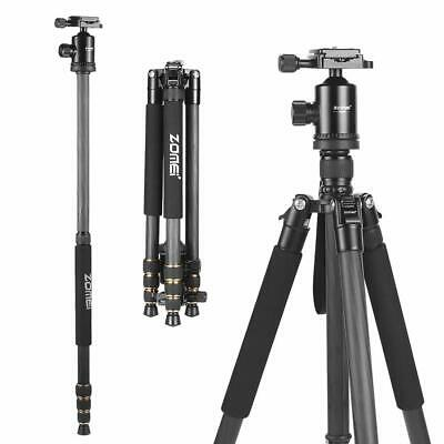 ZOMEI VT666 Compact Stable Camera Tripod 3-Sections Versatile for Photography
