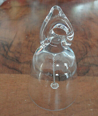 bell , cloche Crystal signée Daum France