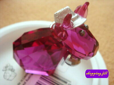 2014 SWAROVSKI CRYSTAL Lovlots - Disco Mo - Cow (Limited Edition) 5003403 - NEW