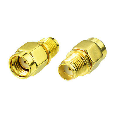 4 Pcs SMA Female to SMA Female Jack in Series RF Coaxial Adapter Connector Q5O4