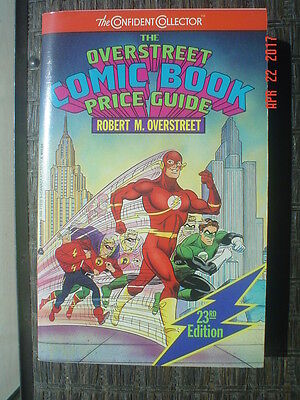 Overstreet Comic Book Price Guide # 23 - 1993 - Flash & Green Lantern Cover