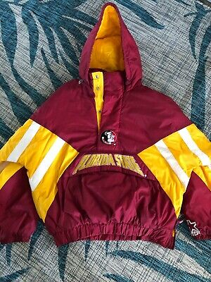 964108478ceb2 Starter Florida State University Seminoles FSU Jacket Coat Vintage 90 s  Size XL